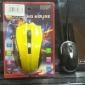 r cavalo jogo do rato a laser motor de seis botões e uma roda de 3200 dpi