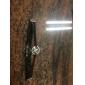 빈티지 7CM 여자의 까만 직물 포장 팔찌 (블랙) (1 개)