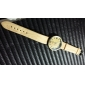 Women's Fashion Wood Grain Four Digital Quartz Analog Denim Cloth Band Wrist Watch(Assorted Colors) Cool Watches Unique Watches