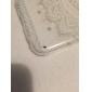 Coque Pour iPhone 6 iPhone 6 Plus Transparente Motif Coque Arrière Mandala Dur Polycarbonate pour iPhone 7 Plus iPhone 7 iPhone 6s Plus