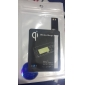 Black Qi Standard Wireless Charging Receiver Pad For Samsung Galaxy S4