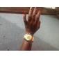 Women's Roman Scale Fading Color Dial Gold Band Quartz Analog Elegant Fashion Watch Cool Watches Unique Watches