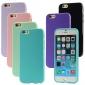 제품 iPhone 8 iPhone 8 Plus iPhone 7 Plus iPhone 6 iPhone 6 Plus 케이스 커버 충격방지 뒷면 커버 케이스 한 색상 소프트 TPU 용 Apple iPhone 8 Plus iPhone 8 아이폰 7