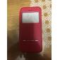 ультратонкий сплошной цвет искусственная кожа + TPU смарт случае окно флип для Iphone 6с 6 плюс с подставкой