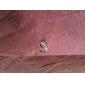 Серьга В форме листа Клипсы Бижутерия 1шт Для вечеринок / Повседневные / Спорт Сплав Женский