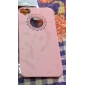 Hollow Out Flower Heart PC Hard Case  for iPhone 4/4S (Assorted Colors)