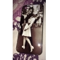 Victory Kiss Design Aluminum Hard Case for iPhone 5/5S
