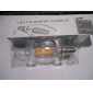 4W E14 Lâmpadas de Filamento de LED C35 leds COB Regulável Decorativa Branco Quente 300-350lm 2800-3200K AC 220-240V