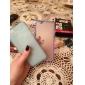 Pour Coque iPhone 6 Coques iPhone 6 Plus Ultrafine Transparente Coque Coque Arrière Coque Couleur Pleine Flexible PUT pouriPhone 6s