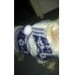 Cat Dog Coat Hoodie Dog Clothes Keep Warm Fashion Snowflake Brown Ruby Blue
