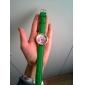 les femmes verdure fleur pourpre PU diamant en cuir dame marque de luxe robe de support de montre-bracelet de c&D-190
