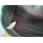 패션 합금 잎의 머리 핀의 자형 (모듬 색상)