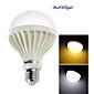 E26/E27 Ampoules Globe LED A70 18 diodes électroluminescentes SMD 5630 Décorative Blanc Chaud Blanc Froid 900lm 3000/6000K AC 100-240V