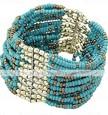boemia artesanal estilo bracelete frisado