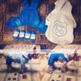 강아지 바지 강아지 의류 청바지 블루 데님 코스츔 애완 동물 남성용 여성용 카우보이 패션