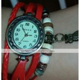 Women's Bracelet Watch Quartz Casual Watch PU Band Analog Bohemian Fashion Black / Blue / Red - Red Green Blue One Year Battery Life / Jinli 377