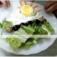 1pc Kitchen Tools Stainless Steel Creative Kitchen Gadget DIY Mold Egg