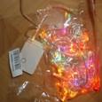 10 м Гирлянды 100SMD светодиоды Тёплый белый / RGB / Белый Водонепроницаемый / Меняет цвета 220 V / IP44