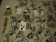 여성용 크리스탈 샹들리에 드랍 귀걸이 링 귀걸이 - 모조 큐빅, 라인석 골드 제품
