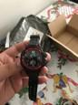 SANDA Муж. электронные часы / Спортивные часы Будильник / Календарь / Защита от влаги Pезина Группа Черный